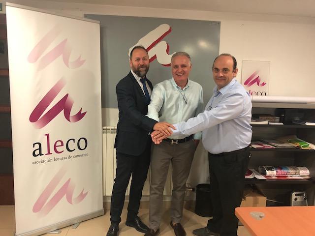 ALETIC y ALECO buscan una alianza para impulsar las TIC y el comercio leonés
