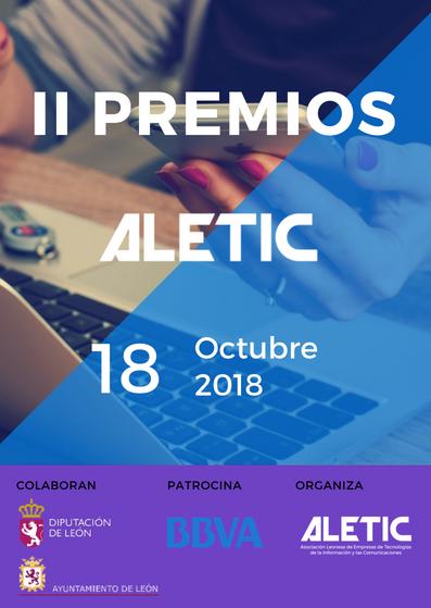 II Premios ALETIC: todo lo que tienes que saber