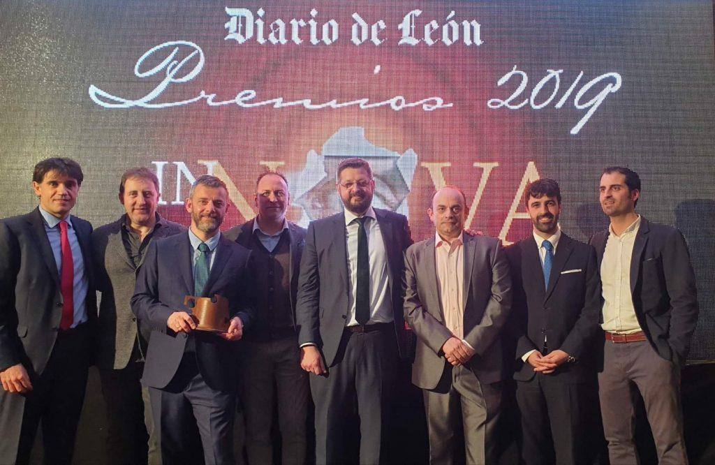 Grpo de ALETIC en Premios Innova