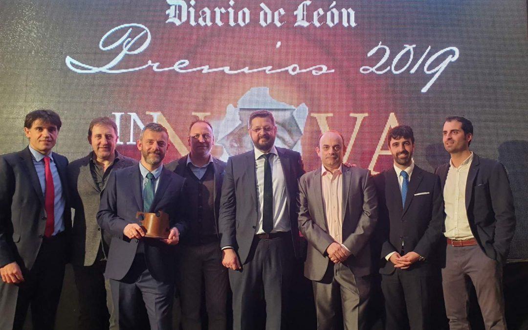 Xeridia ganadora del Premio INNOVA 2019 del Diario de León