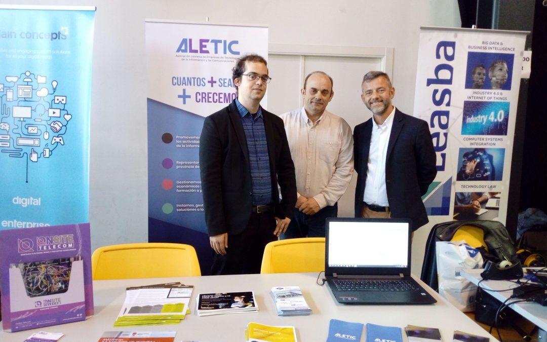 ALETIC participa en la tercera edición de Leon4U!