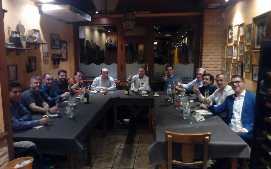 ALETIC celebra su cena de navidad anual en León