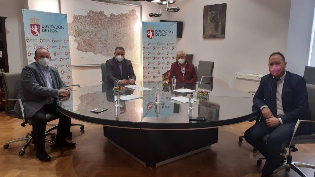 Reunión con Diputación de León