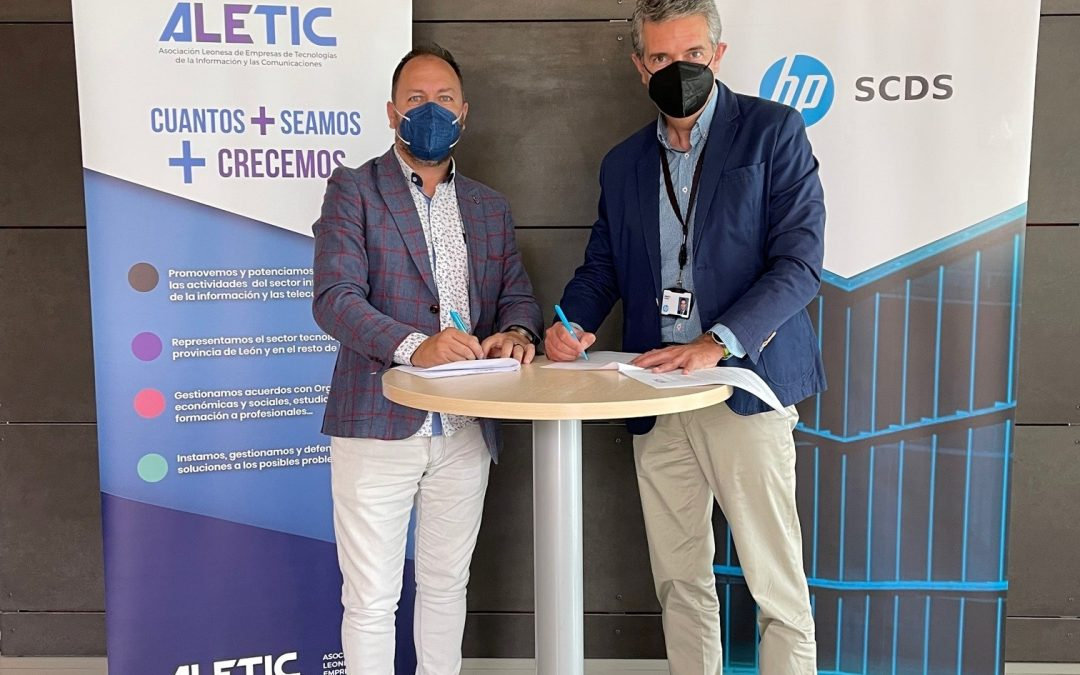 HP SCDS se une a ALETIC para reforzar la visibilidad del sector TIC leonés